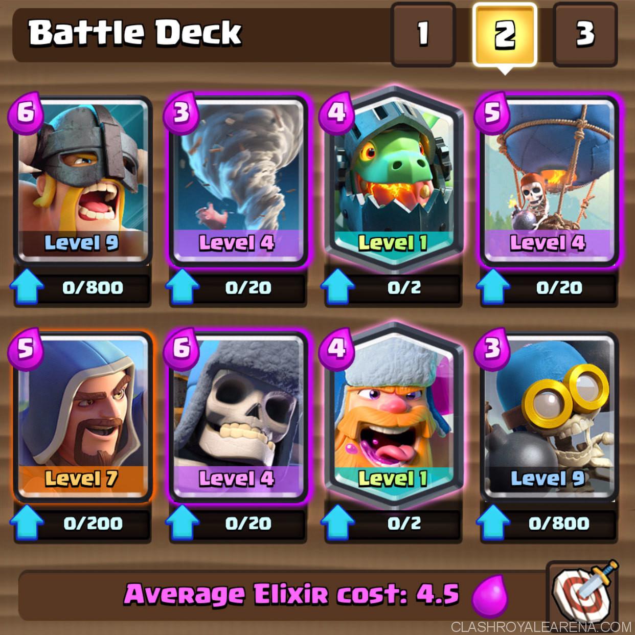 Clash Royale December Balance Change Update 12 15