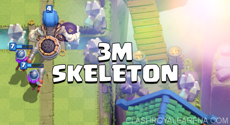 Giant Skeleton 3 Musketeers deck
