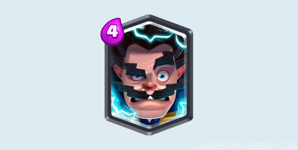Clash Royale Electro Wizard