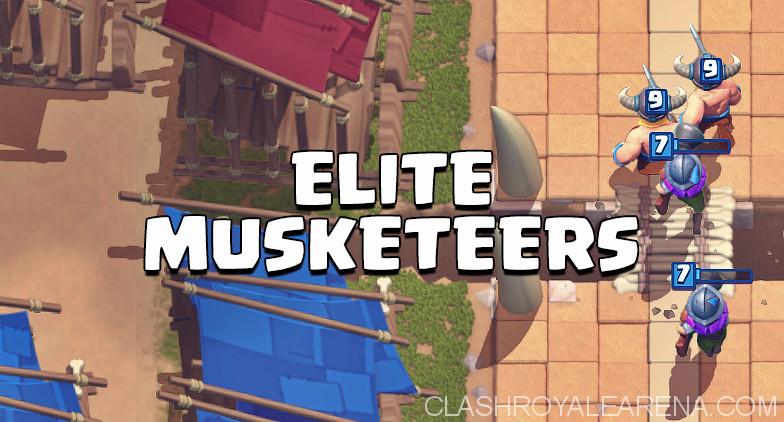 Three Elite Musketeers Deck