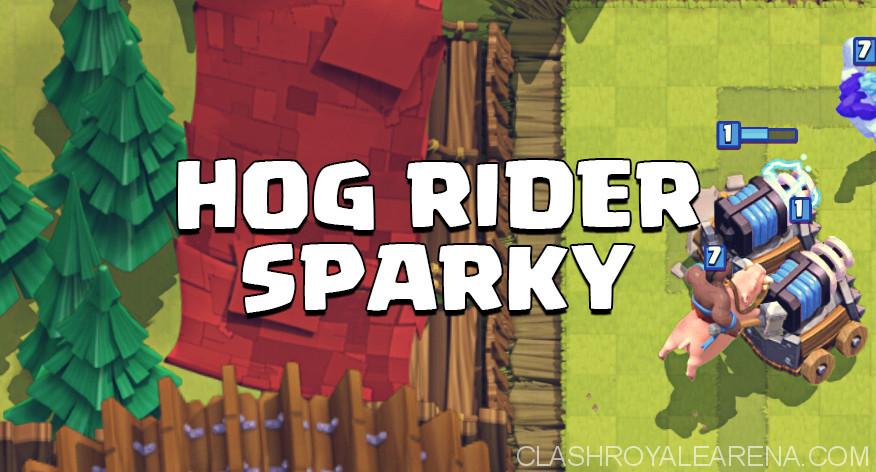 Hog Sparky Deck