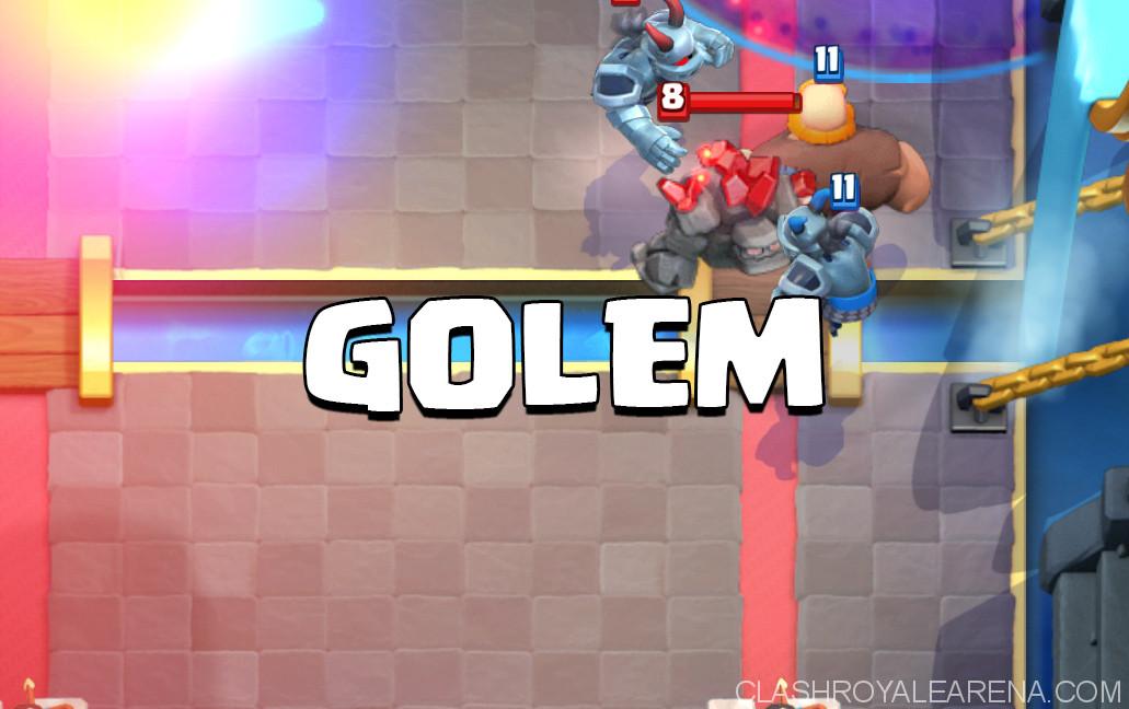 Get to Legendary Arena with Golem Deck