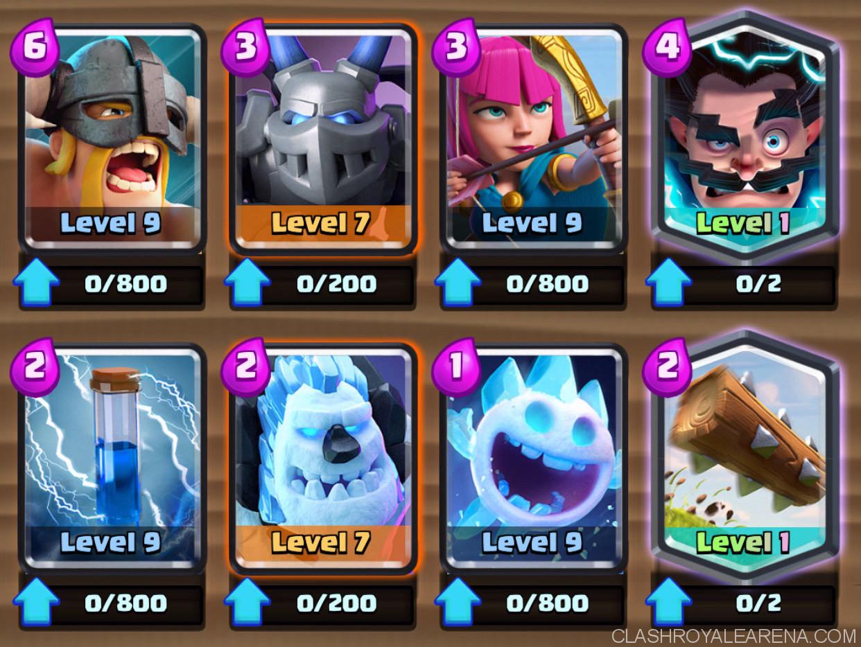 Clash Royale January Balance Change Update