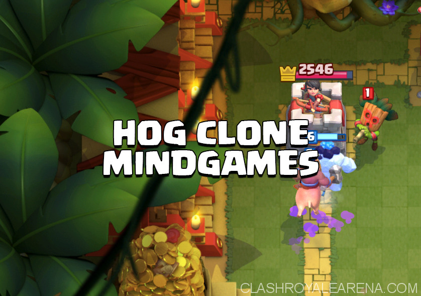 Hog Clone Mindgames Deck For Arena 8 Clash Royale Guides