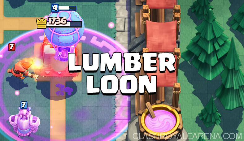 Lumberjack Balloon Deck