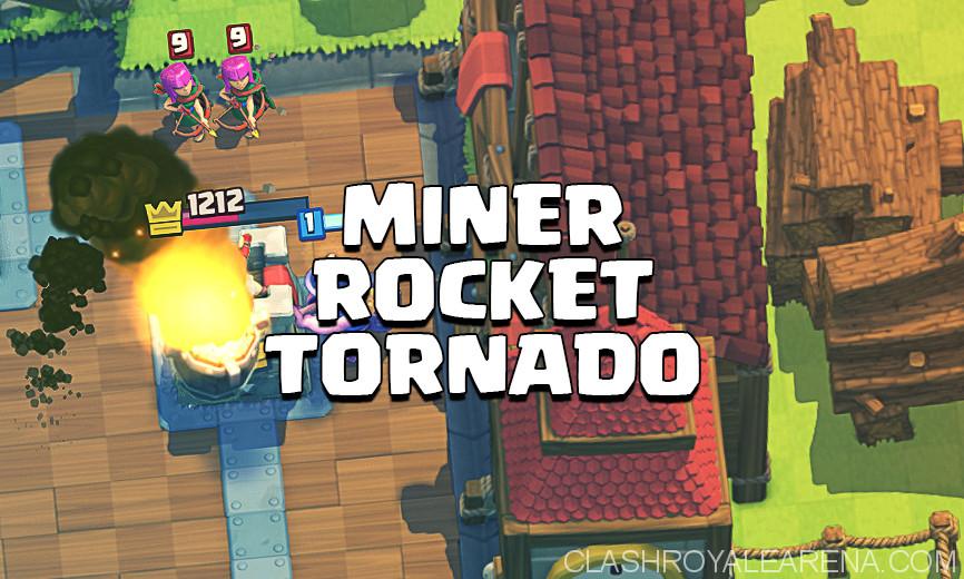 Miner Tornado Rocket Deck