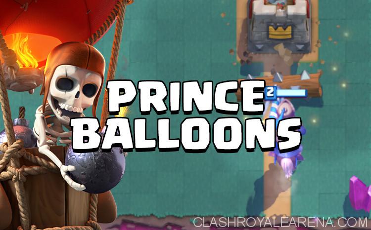 Prince Balloon Control Deck