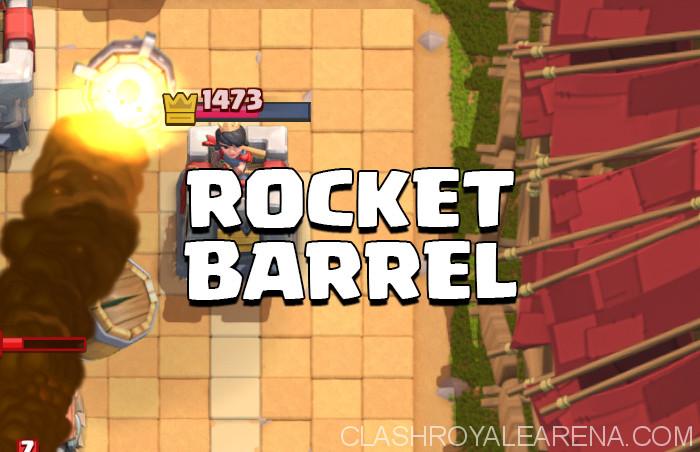 Rocket Barrel Deck
