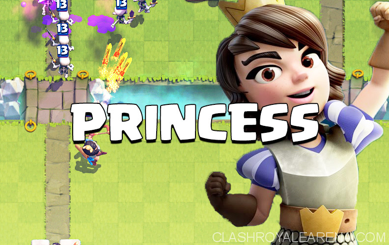 clash royale princess