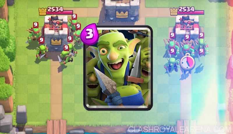 Clash Royale Goblin Gang