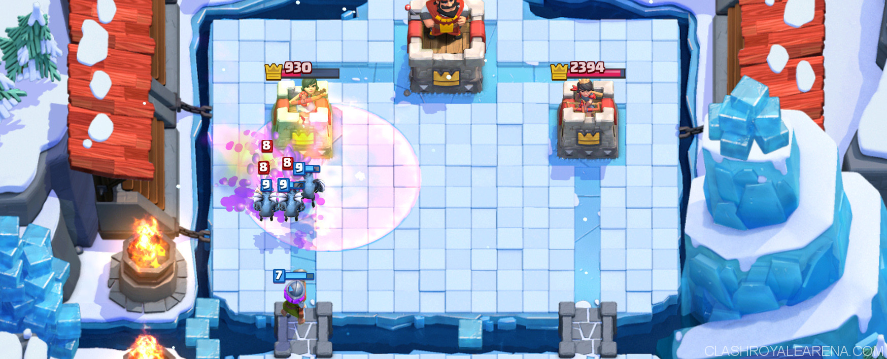 Musketeer Miner The Burning Deck Clash Royale Guides