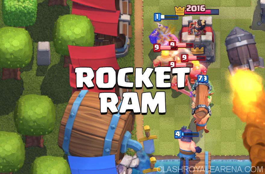 Battle Ram Rocket Deck