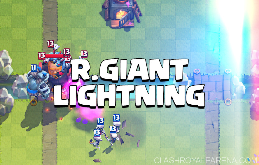Royal Giant Lightning Deck