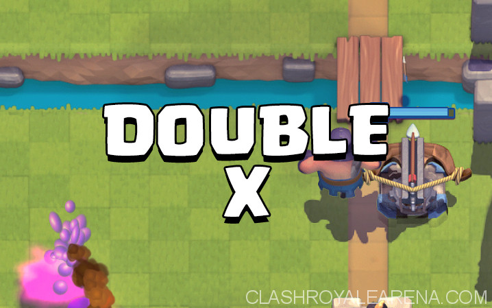 Double X Tornado Ladder Deck