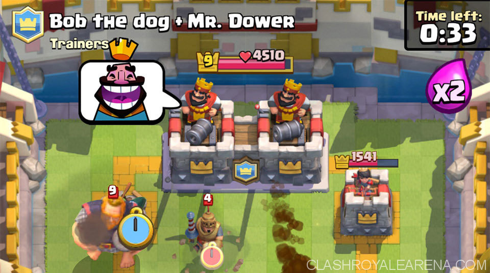 Clash royale big anniversary update this march hidden changes clash royale clan battle stopboris Gallery