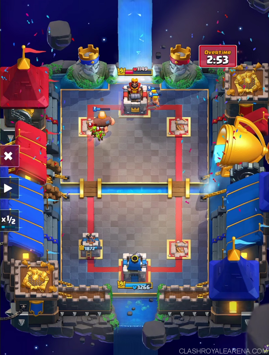 Clash Royale Arena 11 Battle