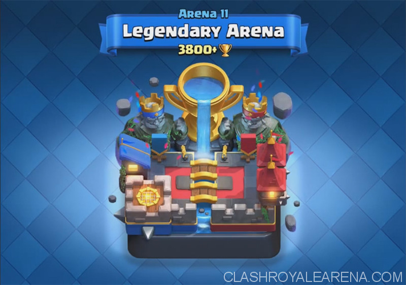 Clash Royale Arena 11