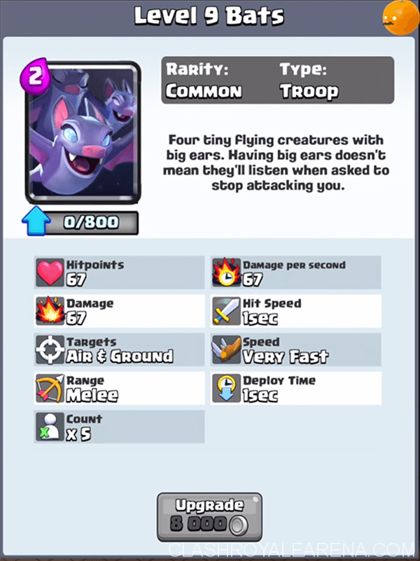 Clash Royale Bats