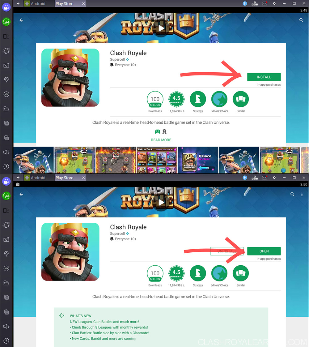Top Free Android Games Dont Miss It Download Now Free: Clash Royale PC For Windows XP/7/8/10