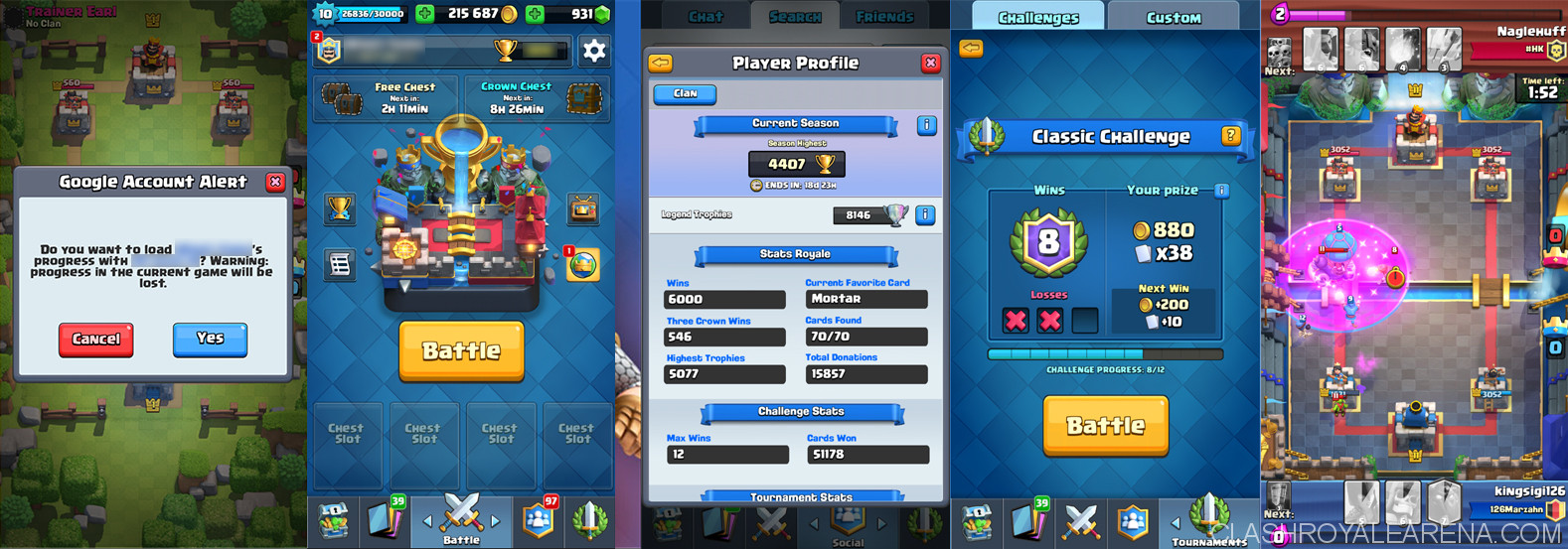 clash royale pc gameplay on bluestacks