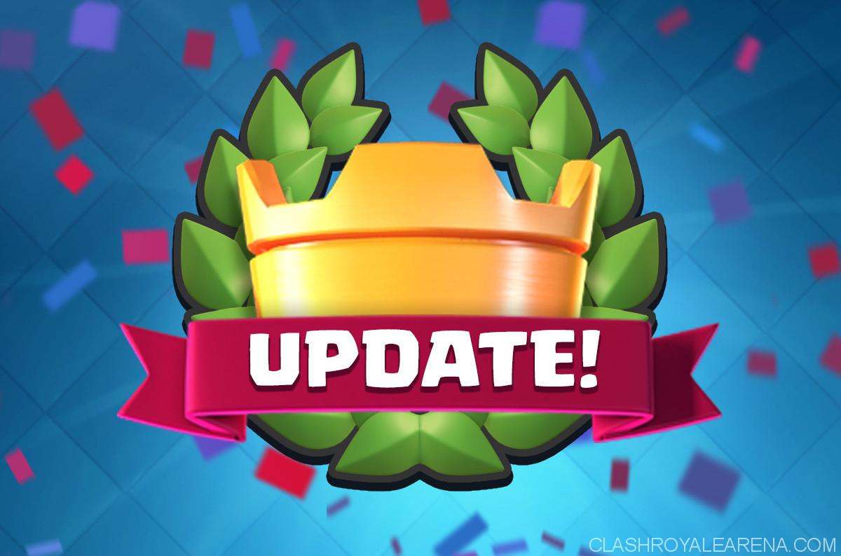 Clash Royale Big Anniversary Update