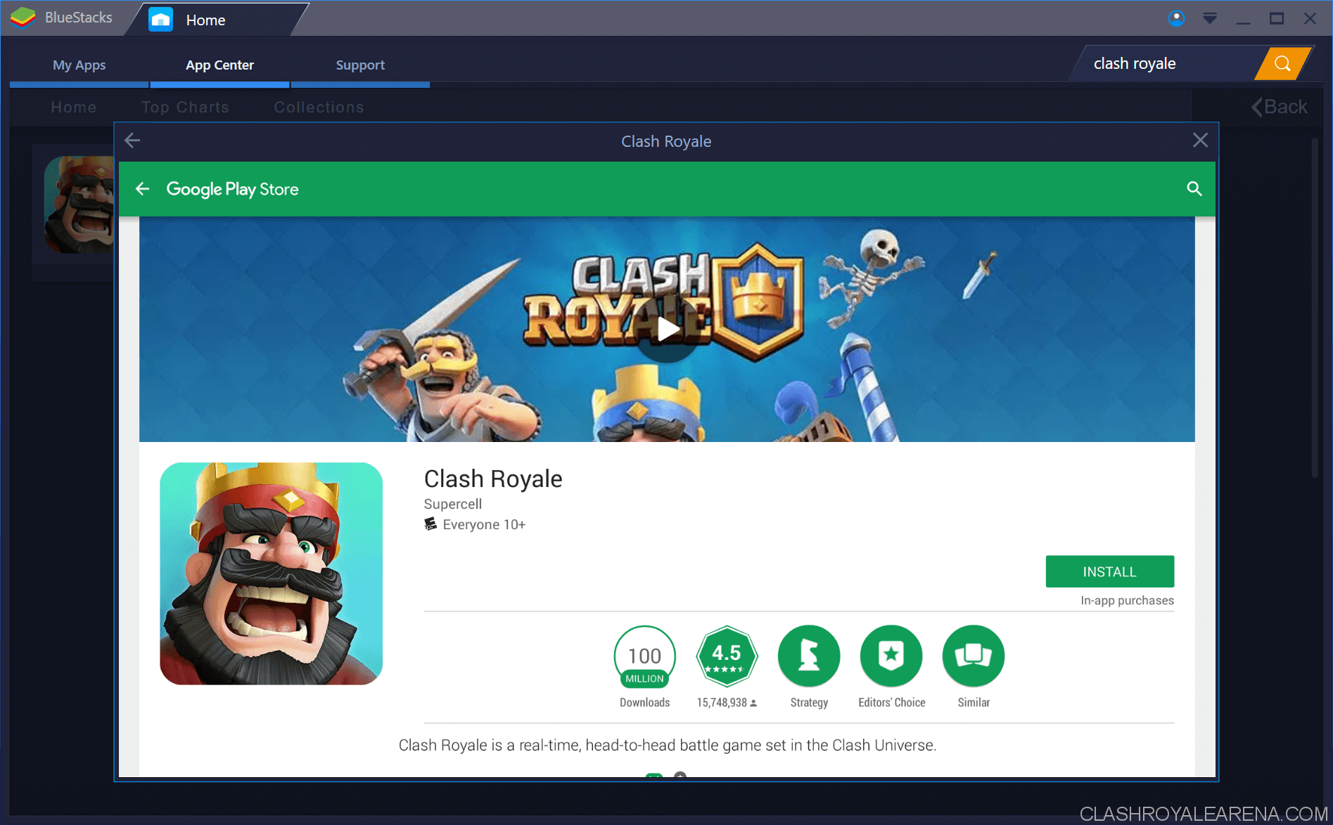 clash royale ios download no app store