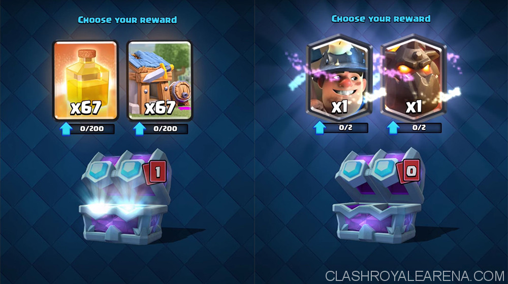 clash royale draft chest