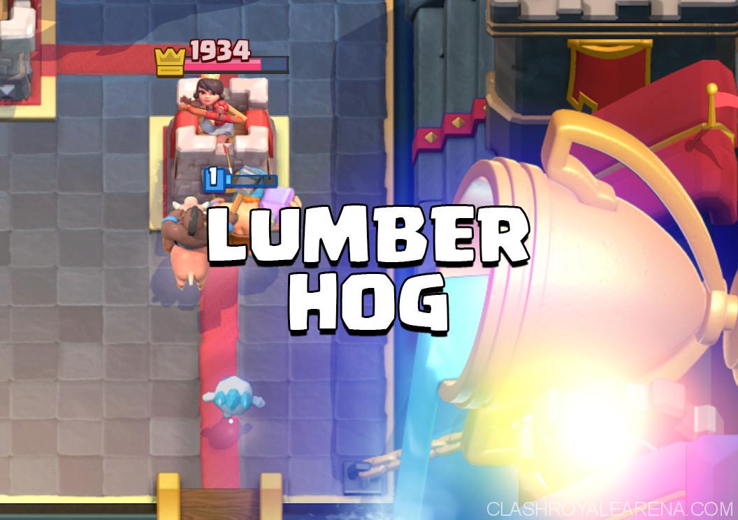 Hog Lumberjack