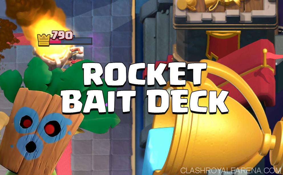 Dart Goblin Rocket Spell Bait Deck