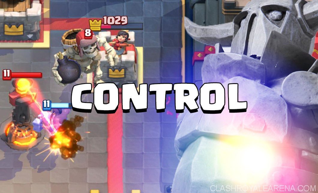 Control Deck Clash Royale