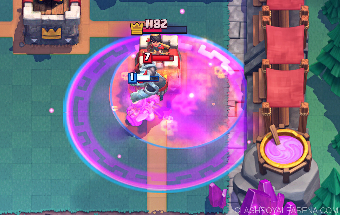 Miner Poison Lumberjack Control Clash Royale Guides
