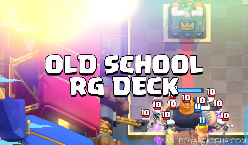 Old School Royal Giant Deck