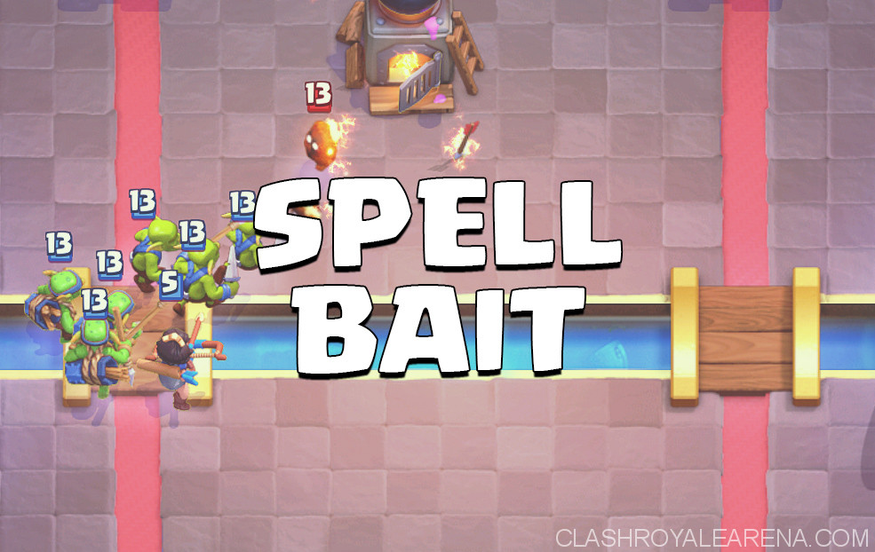 spell bait clash royale