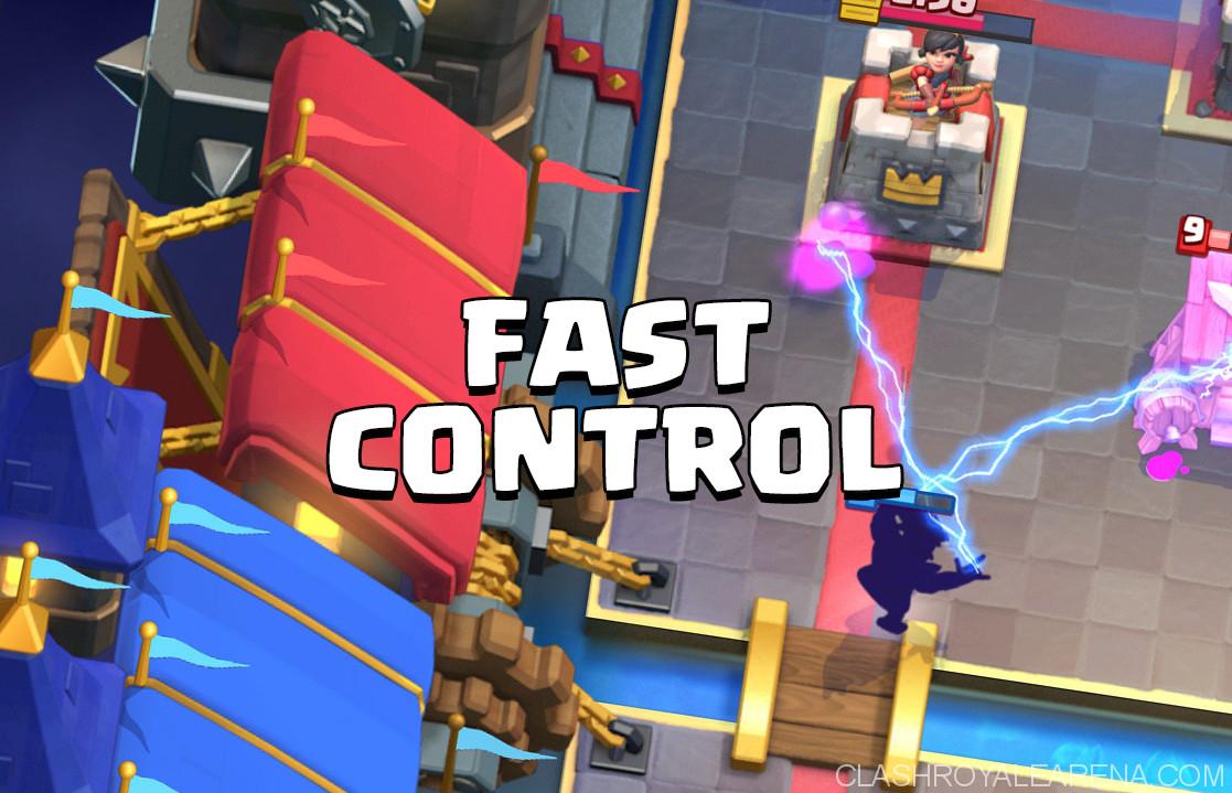 fast control deck