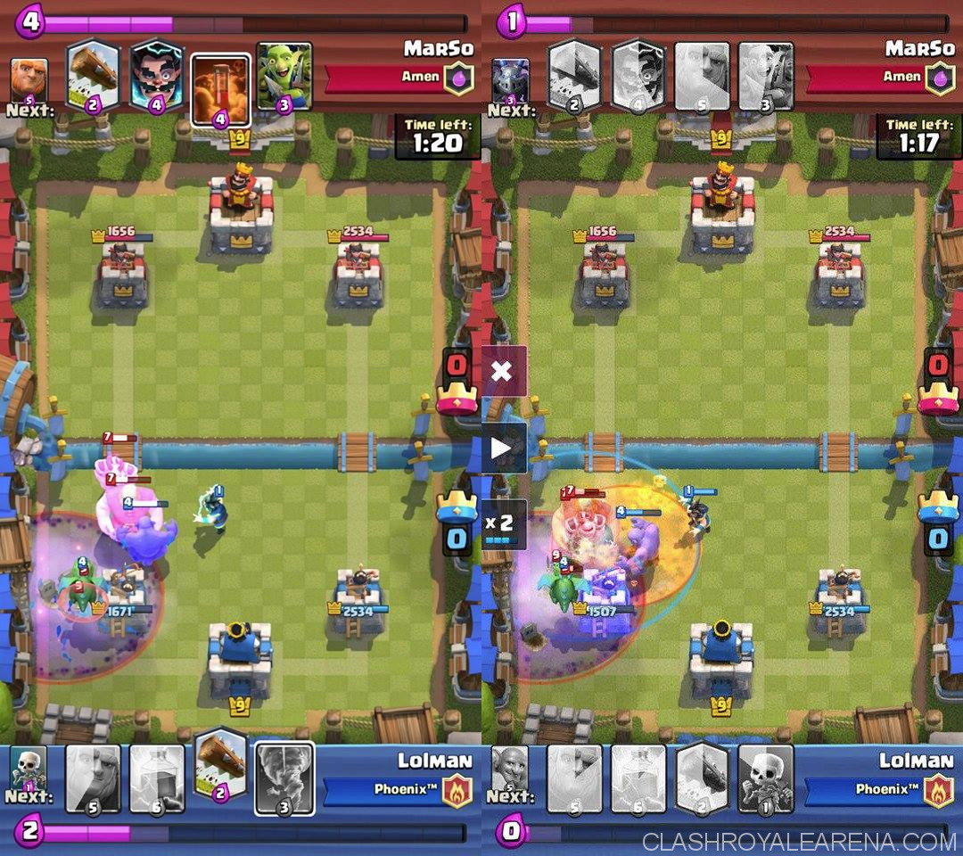 Giant Bowler Lightning Deck For Arena 8 Clash Royale Guides