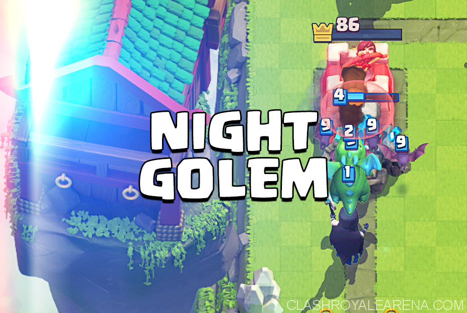 Golem Night Witch Deck