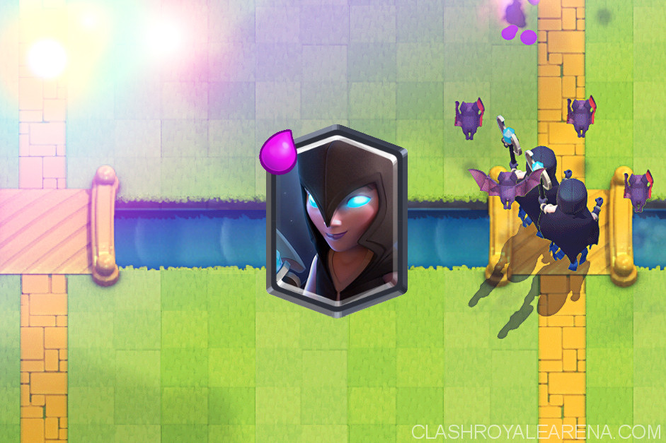clash royale night witch