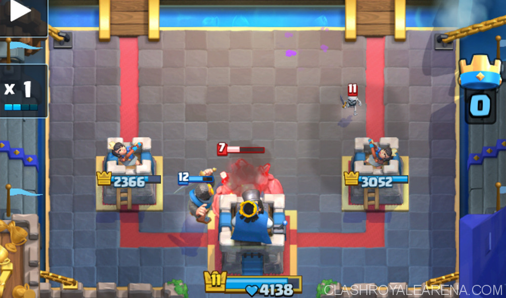tornado golem to the King's Tower