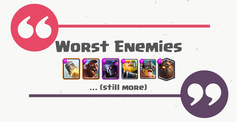 siege worst enemies