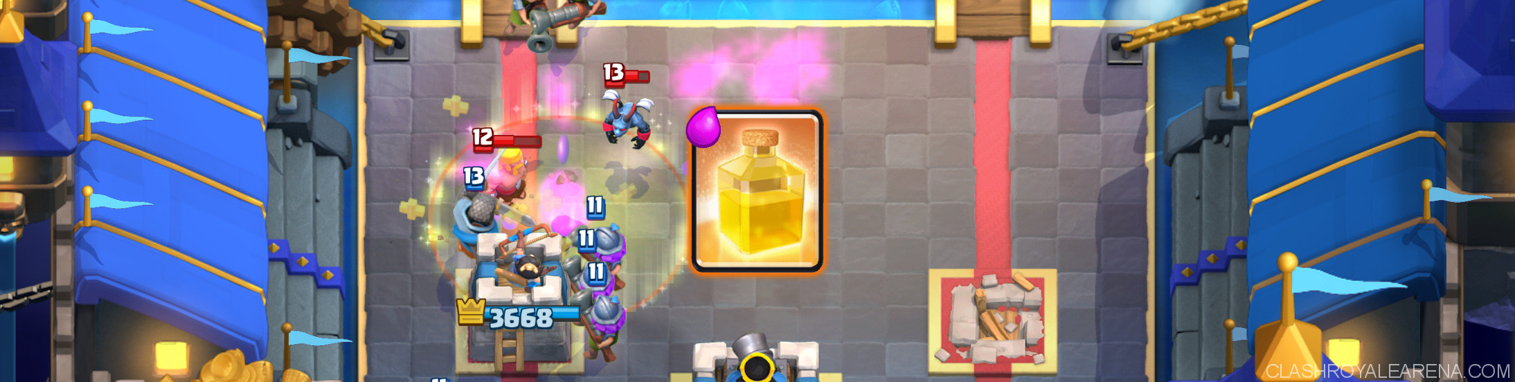 clash royale heal