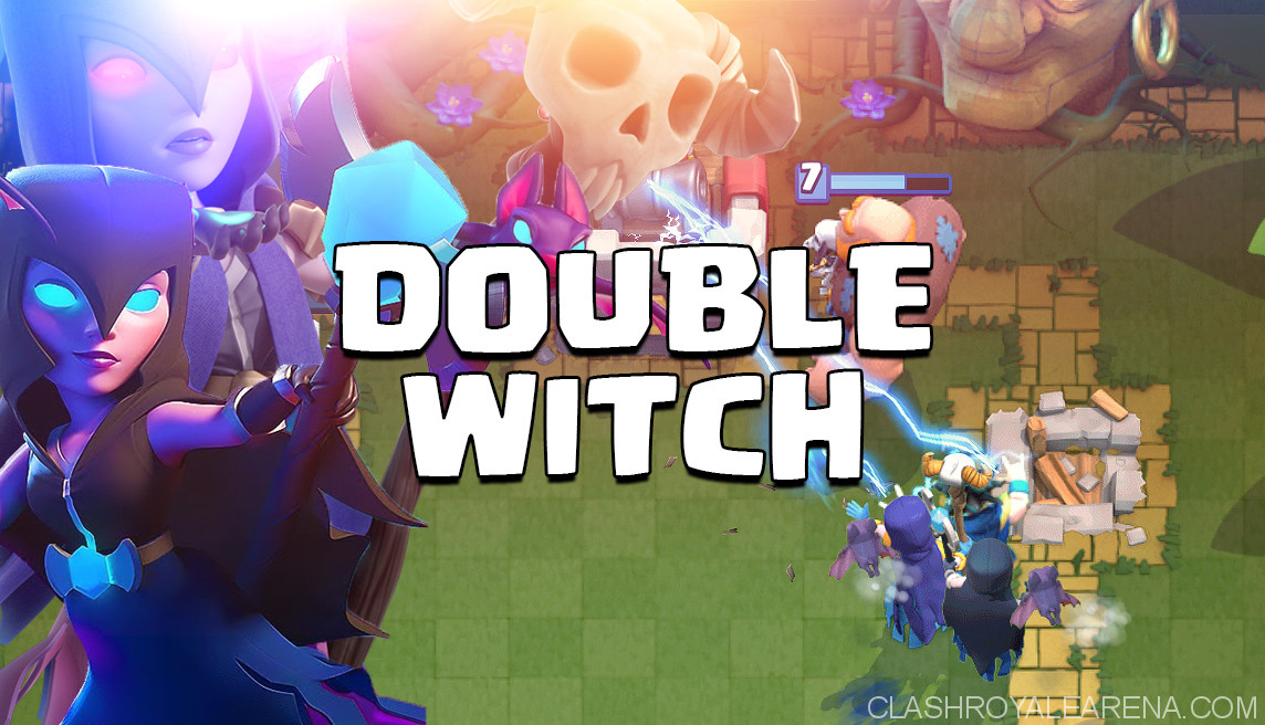 Giant Double Witch New Unstoppable Deck Clash Royale