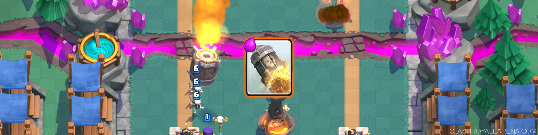 rocket clash royale
