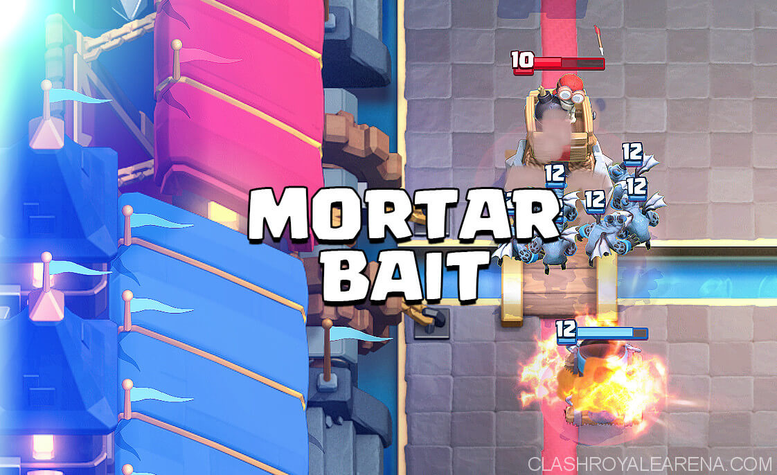 mortar bait deck