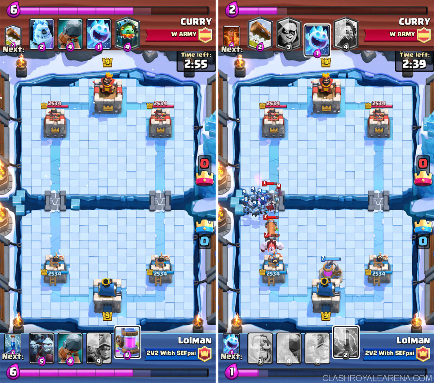 3m Ram Heal Combo Deadly Combo Clash Royale Guides