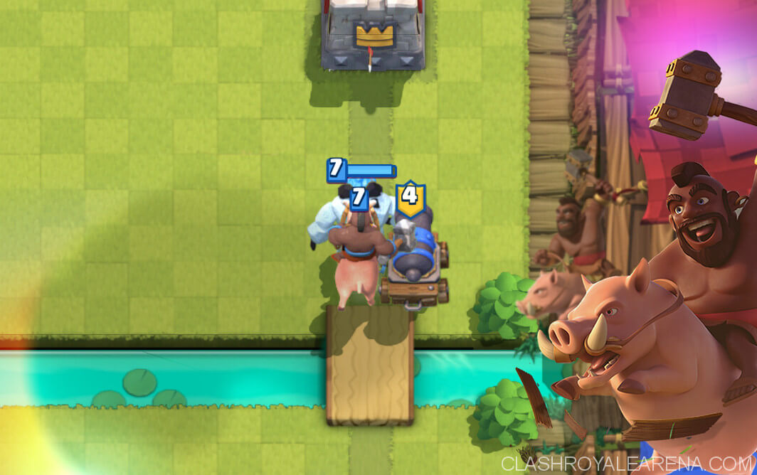 hog rider cannon cart