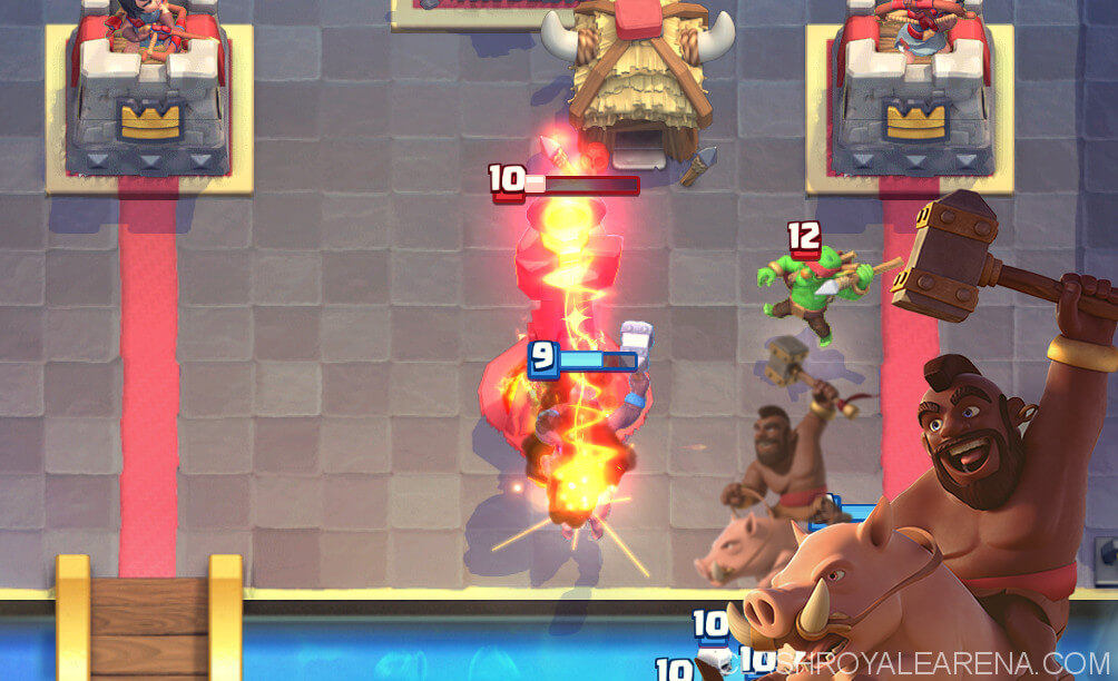 hog vs inferno tower
