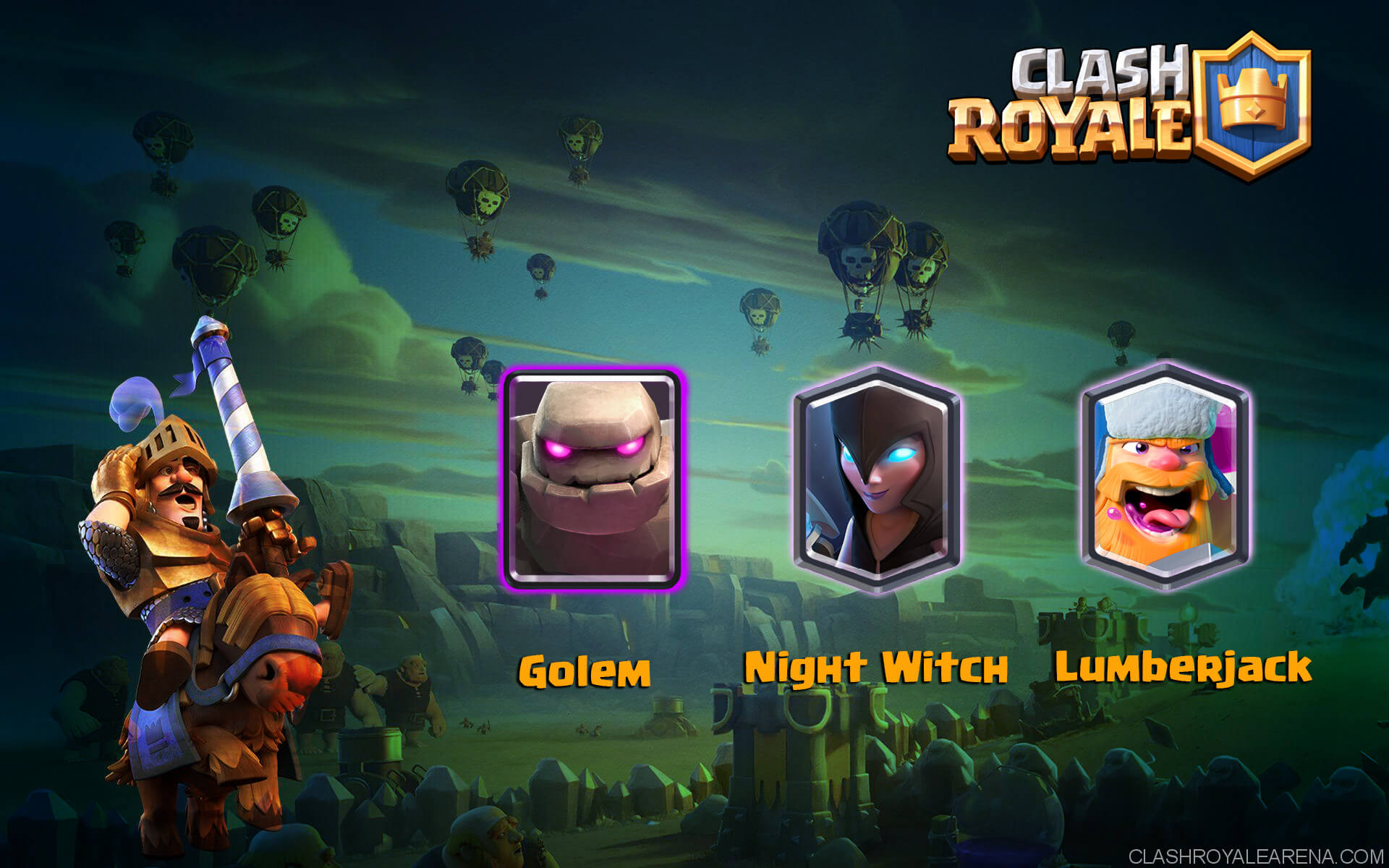 Golem Night Witch | Reborn w/ Lumberjack!