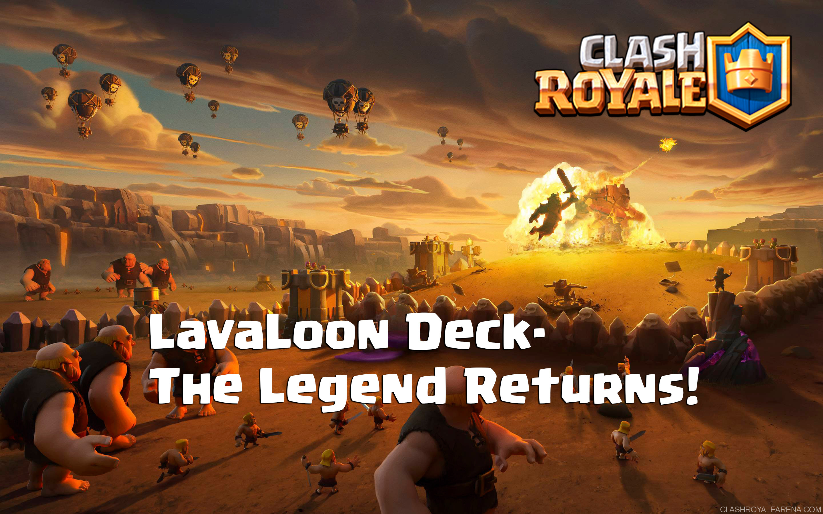 LavaLoon Deck- The Legend Returns!