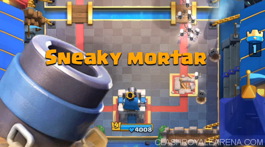 Sneaky mortar freeze