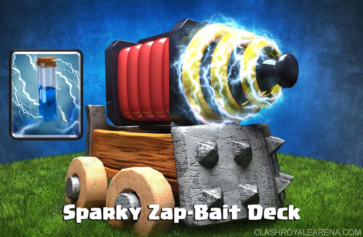Sparky Zap-Bait Deck